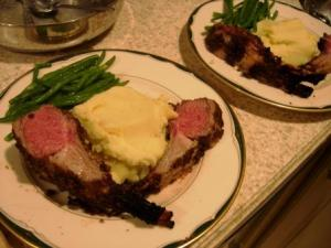 Easy rack of lamb