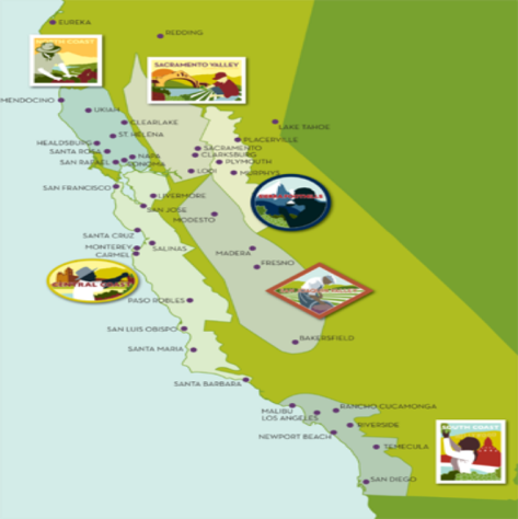 California Wine Regions