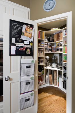 kitchen-pantry-door-wall-pockets-magnetic-chalkboard-vertical-tray-holders